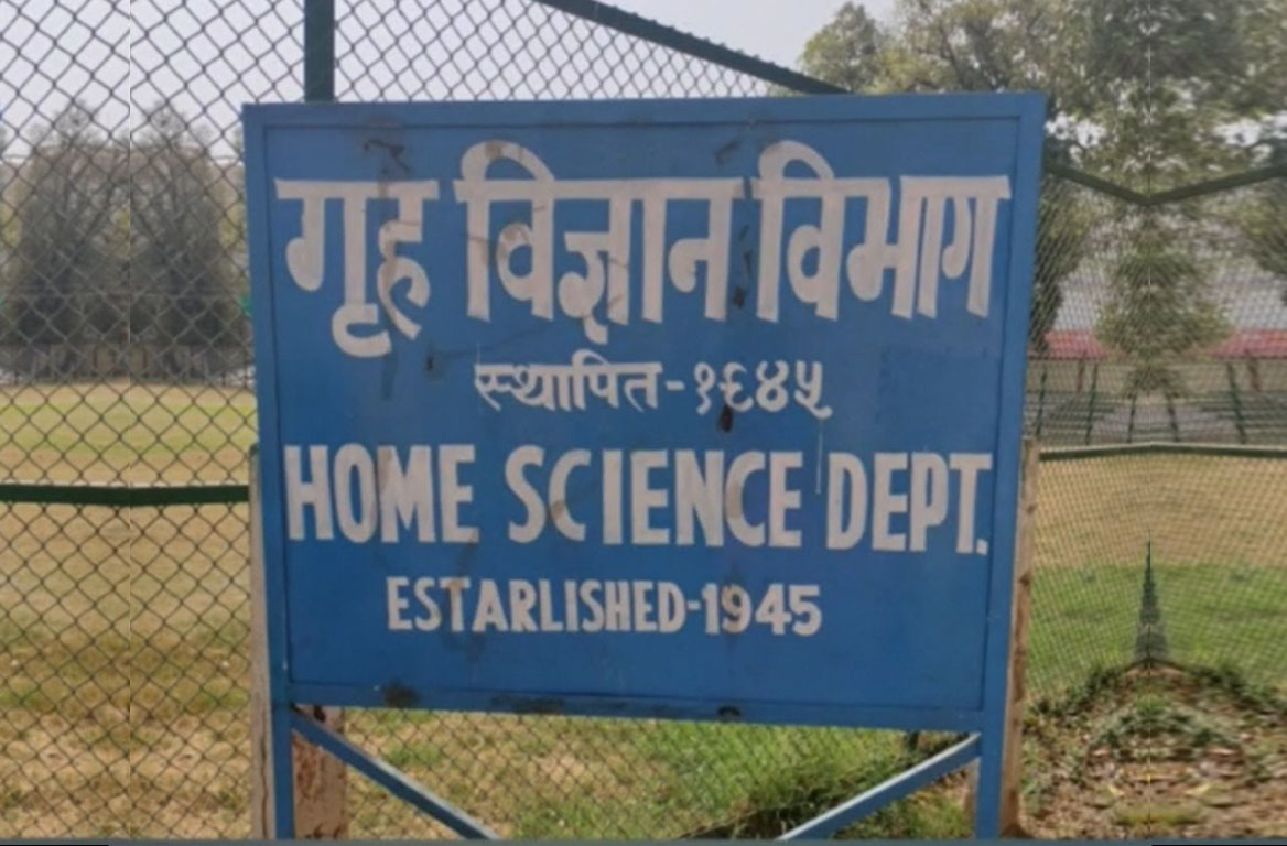 Poster exhibition in Department of Home Science